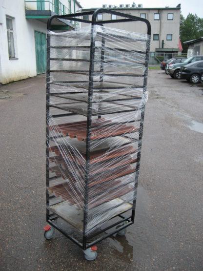 Küpsetusplaatide 600×450 käru dogi