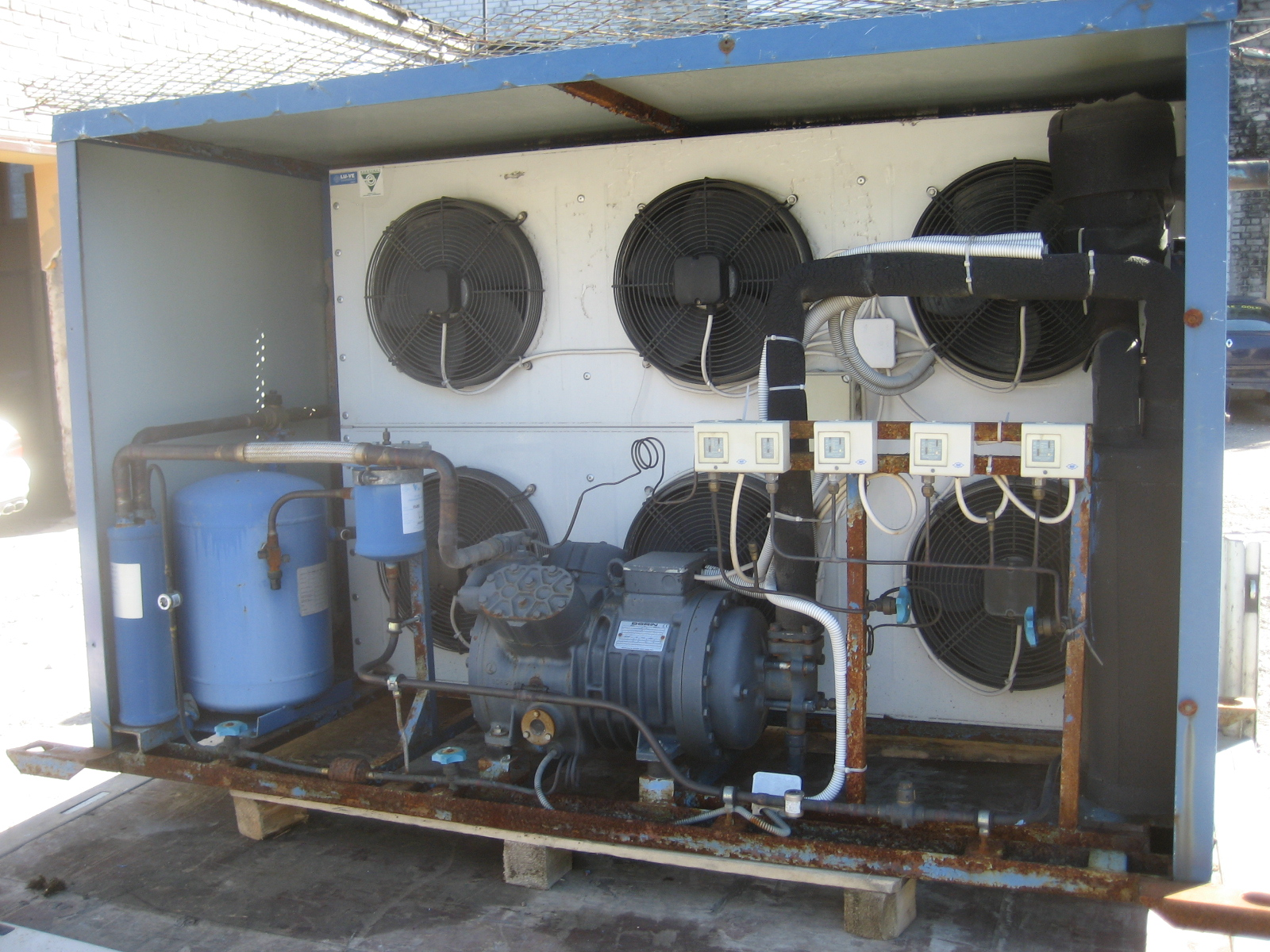 Kompressoragregaat Dorin K1000 CS